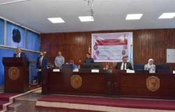 رئيس جامعة سوهاج يفتتح مؤتمر «تحديات التعليم الافتراضي في التمريض وفرص المستقبل»