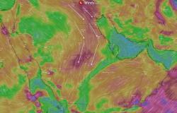 المسند يتوقع طقس الأربعاء: أمطار على جازان وعسير ونشاط للبوارح