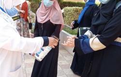 طلاب الشعبة العلمية يتوافدون على اللجان لأداء امتحان الديناميكا بالشرقية