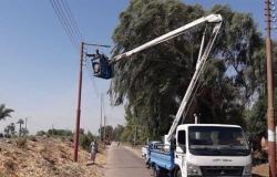 رفع 29 طن مخلفات في حملة نظافة بالقرنة غرب الأقصر