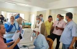 الكشف الطبي على 600 مريض بقرية سنهور المدينه بدسوق ضمن مبادرة الرئيس
