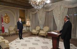 رئيس تونس يعين وزيرًا جديدًا للداخلية