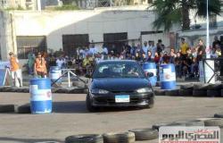 انطلاق سباق السيارات في ستاد الإسكندرية بمشاركة 50 متسابقا (صور وفيديو)