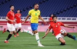 مصر تودّع منافسات كرة القدم في أولمبياد طوكيو بخسارة من البرازيل