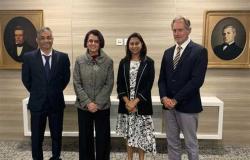 رئيس الغرفة التجارية الموريشية يستقبل السفيرة المصرية