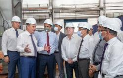 عمليات تصنيع المعدات لأول محطة مصرية للطاقة النووية تنطلق في روسيا