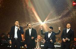 يلحق به أحمد فهمي.. محمد نور يغني «نجمه معدية» مع تريزيجيه في «الجيم» (فيديو)