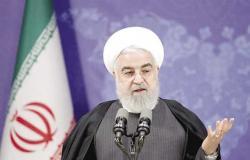 روحاني يحذر الحكومة الجديدة من أن تنفيذ قانون رفع العقوبات سيعطل التوصل لاتفاق مع الغرب