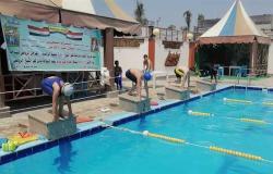مديرية الشباب والرياضة بكفر الشيخ تشارك في مهرجان السباحة