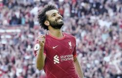 نجوم ليفربول يحتفلون بمئوية صلاح