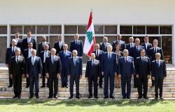 مجلس الوزراء اللبناني يقر البيان الوزاري