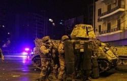 اشتباكات بين الجيش اللبناني ومسلحين في بريتال