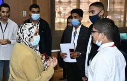 تكريم الطلاب الفائزين في «الباحث الصغير» بجامعة قناة السويس
