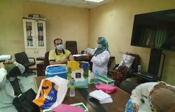 رئيس جهاز العبور: فرق طبية لتطعيم العاملين بالجهاز والمصالح الحكومية بالمدينة للوقاية من فيروس كورونا