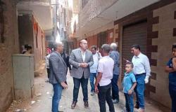 جولة ميدانية لنائب محافظ الجيزة في أوسيم