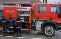 إخماد حريق هائل في مصنع أثاث خشبي بالغردقة.. و5 ملايين جنيه خسائر أولية