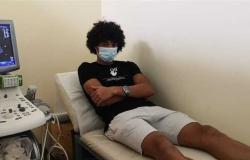 فحص طبي شامل للاعبي المصري (صور)