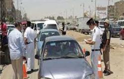 ضبط 756 مخالفة مرورية في أسوان