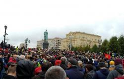 """روسيا.. مظاهرة في موسكو احتجاجًا على """"تزوير واسع للانتخابات"""""""