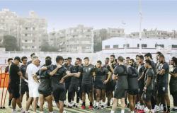 مران الزمالك.. كارتيرون يعقد جلسة مطولة مع اللاعبين