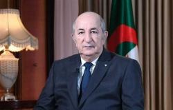 رئيس الجزائر يلتقي القائد العام للقوات الأمريكية في إفريقيا