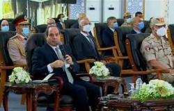 السيسي عن تكلفة إنجاز 15 محطة مياه: «بنفاصل مع الشركات عشان ناخد أحسن حاجة بأحسن سعر»