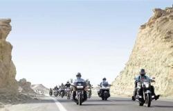 ختام «رالى تحدى عبور مصر» تحت سفح الأهرامات