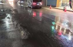 محافظ الشرقية يُتابع أعمال إصلاح ماسورة مياه الشرب بشارع بورسعيد بالإبراهيمية