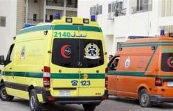 مصرع شخص وإصابة 10 في 3 حوادث طرق بالمنيا