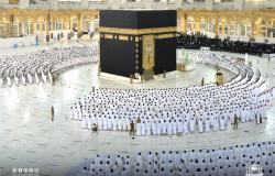 في مشاهد مهيبة غابت طويلاً.. ضيوف الرحمن يتراصون فرحاً بصلاة الفجر في الحرم