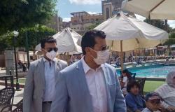 اشرف صبحي يشهد ختام بطولة العالم للرماية علي الأطباق المروحية اليوم