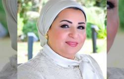 انتصار السيسي: تحية للشباب المصري الذي يطوف قرى الريف لتوفير حياة كريمة لأهالينا