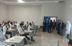 وفد أكاديمي أمريكي يزور جامعة العلمين لتنفيذ برامج مشتركة بين الجانبين (صور)