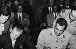 «زي النهارده».. توقيع اتفاقية الجلاء بين مصر وإنجلترا 19 أكتوبر 1954