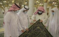 عاجل | حياكة المسجد النبوي تلغي نزع الملصقات