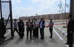 مسؤولو «الإسكان» يفتتحون مقر جهاز مدينة العبور الجديدة.. ويتفقدون المشروعات