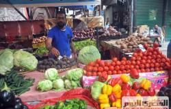استقرار أسعار الخضروات في سوق العبور .. والطماطم 4.5 جنيه