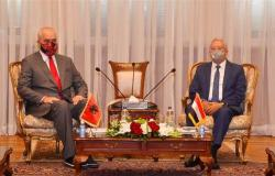 رئيس مجلس النواب يستقبل رئيس وزراء ألبانيا