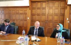 الغرفة التجارية بالإسكندرية تستقبل سفير أستراليا لبحث سبل التعاون المشترك (صور)