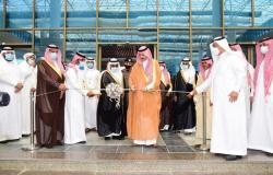 """محافظ الأحساء يفتتح معرض وفعاليات """"أسبوع المهنة"""" في جامعة الملك فيصل"""