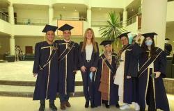 كلية الاعلام بالجامعة العربية المفتوحة تحصد ثلاث جوائز في مسابقة الابداع الرقمي