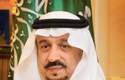 أمير الرياض يشكر ولي العهد على إطلاق استراتيجية استدامة الرياض