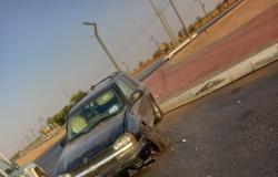 """9 حوادث في شهر.. شاهد مسلسل الخطر يتواصل في """"دوار شقراء الرياض""""!"""