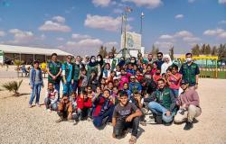 """ياسر القحطاني يشارك""""إغاثي الملك"""" اختتام الحملة التطوعية بمخيم الزعتري"""