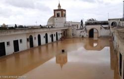 بالصور .. تونس تشهد فيضانات تتسبب في مصرع عددٍ من الأشخاص