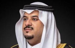 """أمير الرياض بالنيابة يشكر ولي العهد بمناسبة إطلاق """"استراتيجية استدامة الرياض"""""""