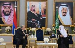 زيارة تاريخية هى الأولى من نوعها: رئيس أرمينيا يزور السعودية