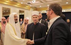 """""""آل الشيخ"""" لعلماء ألبانيا: الفتوى أمانة يجب أن نتحمَّلها بما يُرضي الله لا بما يُرضي الناس"""