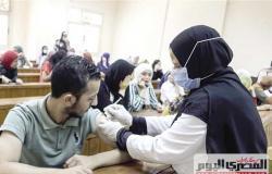 جامعة سوهاج: 5 مقرات لتطعيم الطلاب بلقاح كورونا.. والمستشفى الجديد تتكلف مليار و200 مليون
