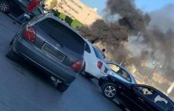 ليبيا.. ألسنة نار تتصاعد بعد اشتباكات مسلحة عنيفة جنوب مدينة بالزاوية
